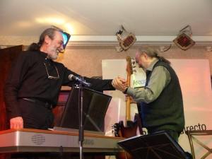 Con Horacio Icasto. Con este señor sí que aprendí música. Gracias amigo y maestro. JAZZ